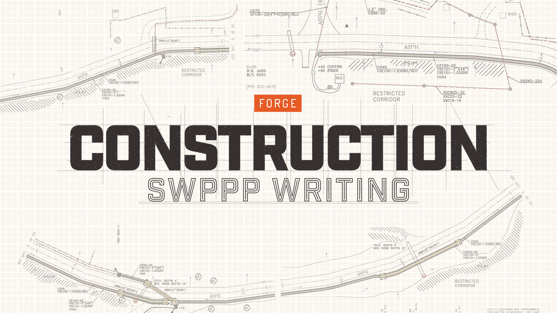 Construction SWPPP Writing