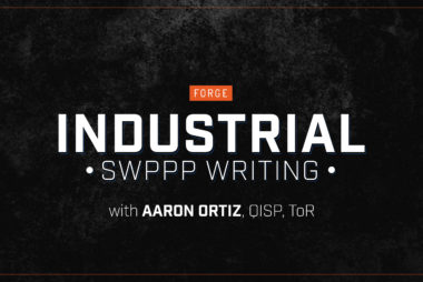 Industrial SWPPP Writing