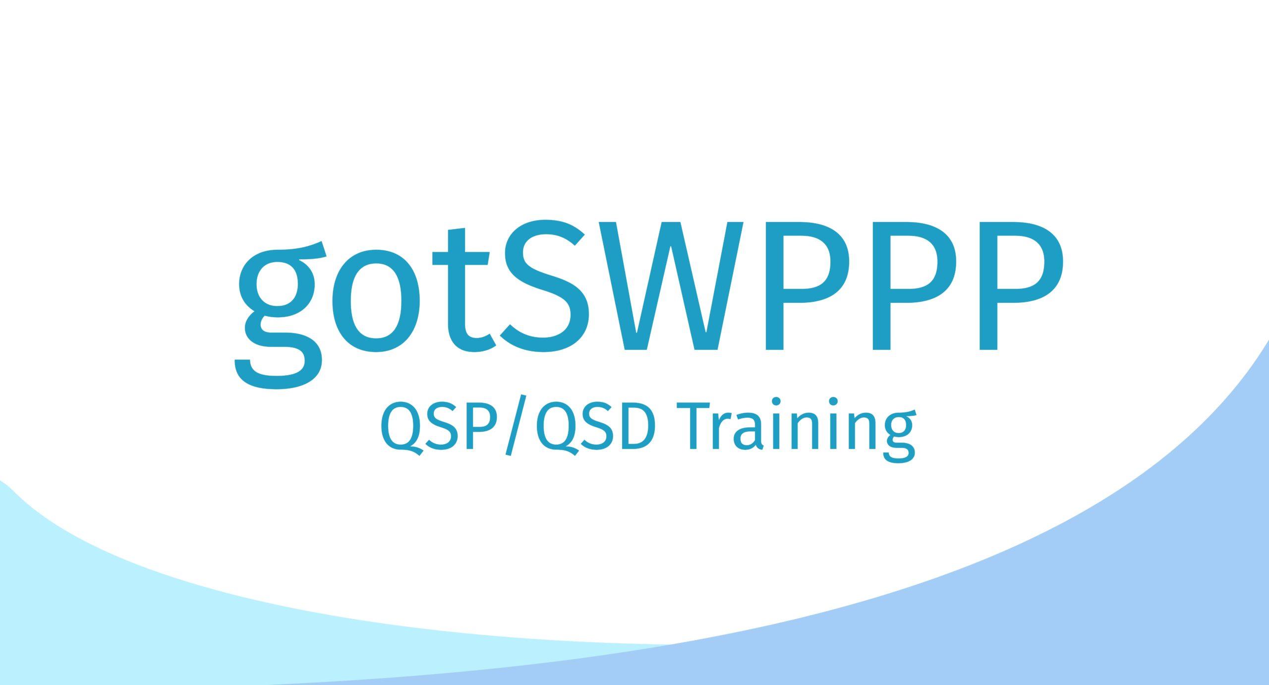 QSP/QSD Certification Course – October 15-17, 2019