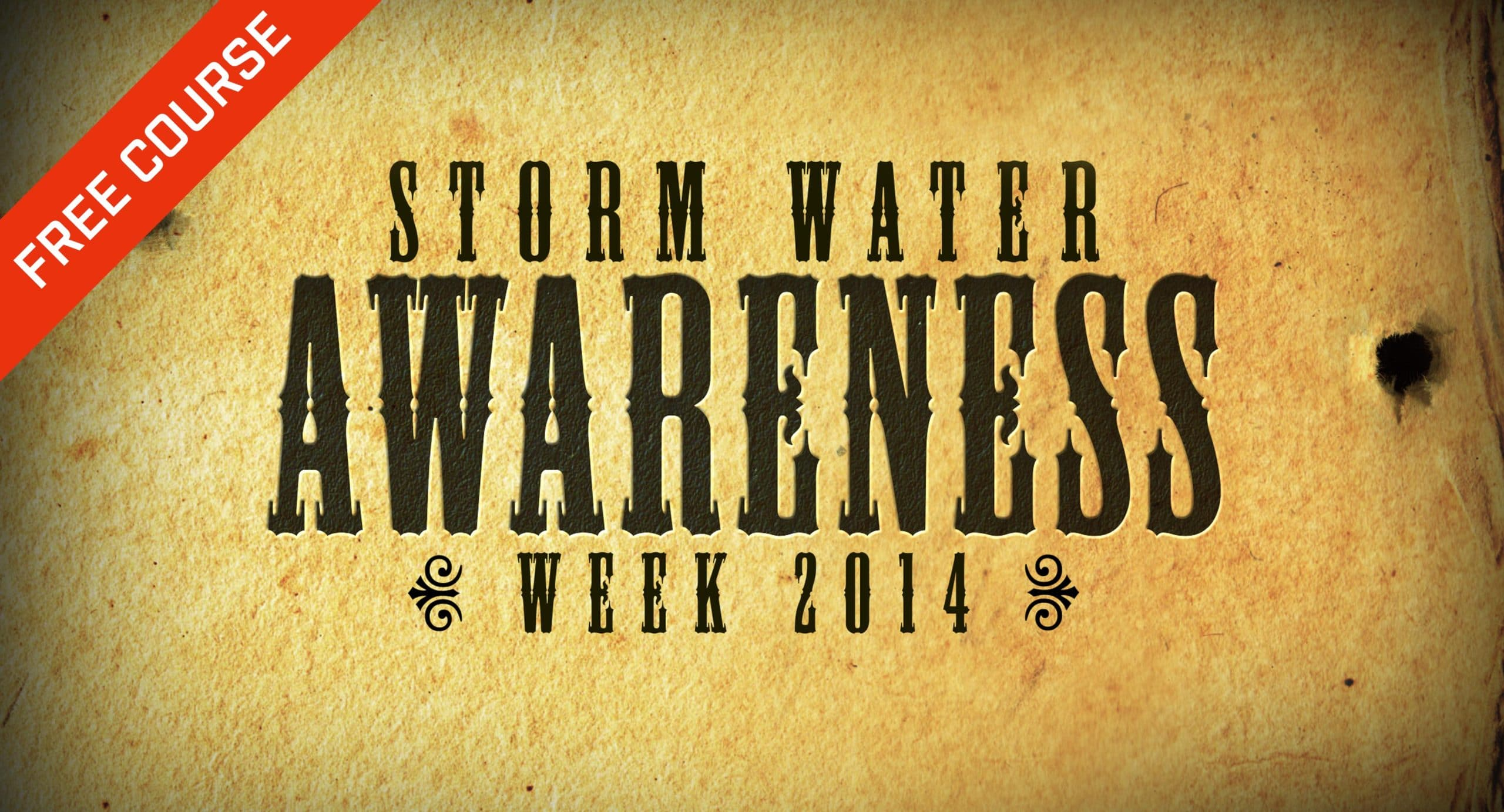 Storm Water Awareness Week 2014